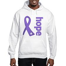Hope Ribbon Hodgkin's Hoodie