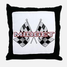 MG Midget Throw Pillow