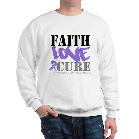 Faith Hodgkins Lymphoma Sweatshirt