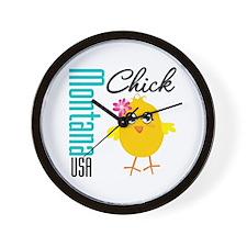 Missouri Chick Wall Clock