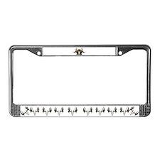 Deer Slayer License Plate Frame