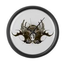 Deer Slayer Large Wall Clock