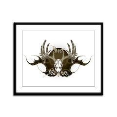 Deer Slayer Framed Panel Print
