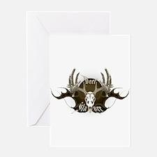 Deer Slayer Greeting Card