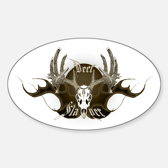 Deer Slayer Sticker (Oval)