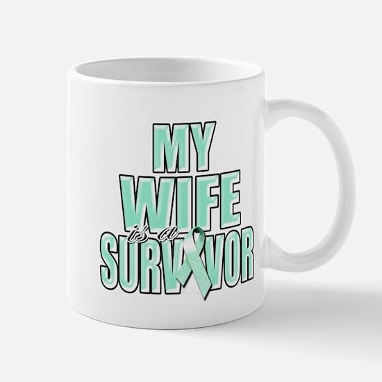 My Wife is a Survivor Mug