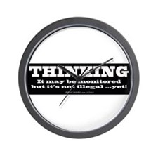 Thinking is not illegal - Wall Clock