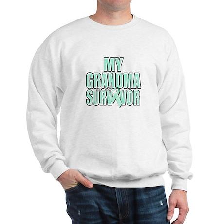 My Grandma is a Survivor Sweatshirt