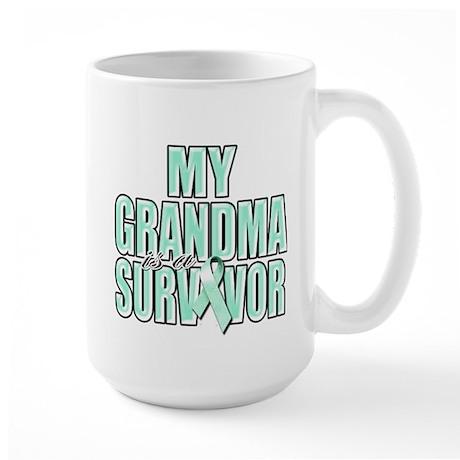 My Grandma is a Survivor Large Mug