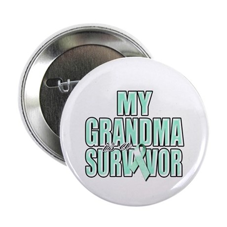 "My Grandma is a Survivor 2.25"" Button (10 pack)"