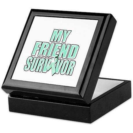 My Friend is a Survivor Keepsake Box