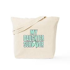 My Daughter is a Survivor Tote Bag