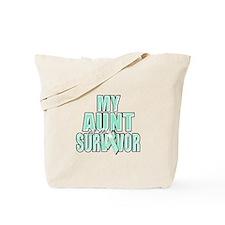 My Aunt is a Survivor Tote Bag