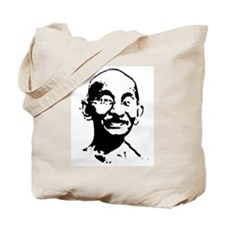 Gandhi shirt Tote Bag