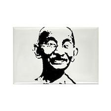 Gandhi shirt Rectangle Magnet