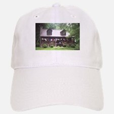 Country Living - Log Cabin Baseball Baseball Cap