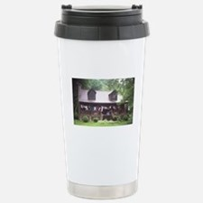 Country Living - Log Cabin Travel Mug