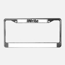 Funny Bloggers License Plate Frame