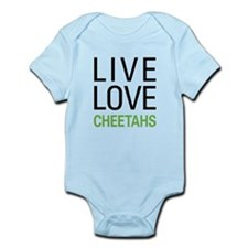 Live Love Cheetahs Infant Bodysuit