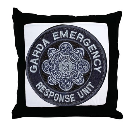 Irish Police SWAT Throw Pillow