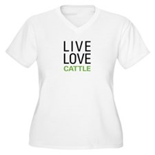 Live Love Cattle T-Shirt