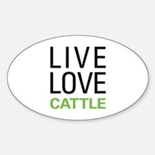 Live Love Cattle Decal