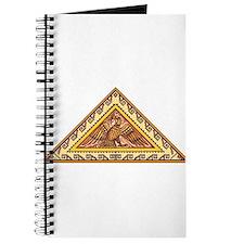 Golden Aztec Eagle Journal