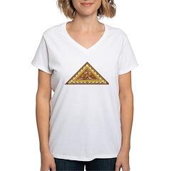 Golden Aztec Eagle Shirt
