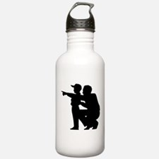 Coaching Silhouette Water Bottle