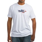 Wrestling American MartialArt Fitted T-Shirt