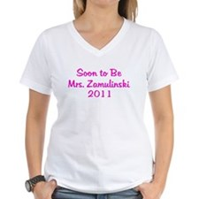 Soon to Be Mrs. Zamulinski 2011 Shirt