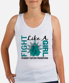 Licensed Fight Like A Girl 8.3 Ov Women's Tank Top