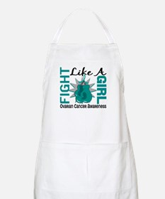 Licensed Fight Like A Girl 8.3 Ovarian Cance Apron