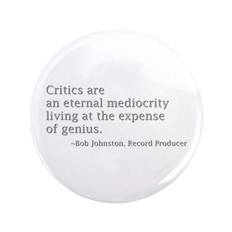 "Critics 3.5"" Button"