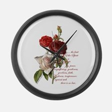 Love - Large Wall Clock