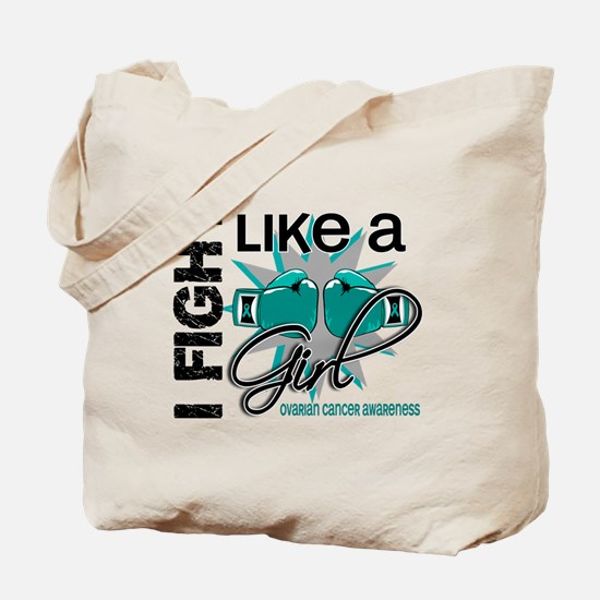 Licensed Fight Like A Girl 13.1 Ovarian C Tote Bag