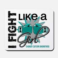 Licensed Fight Like A Girl 13.1 Ovarian Mousepad