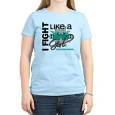 Licensed Fight Like A Girl 1 T-Shirt
