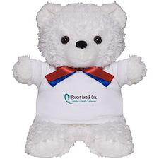 Licensed Fought Like A Girl 16S Ovarian Teddy Bear