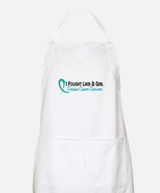 Licensed Fought Like A Girl 16S Ovarian Canc Apron
