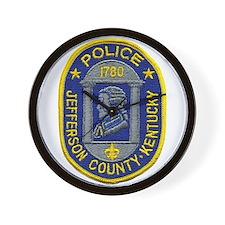 Jefferson County Police Wall Clock