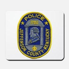 Jefferson County Police Mousepad