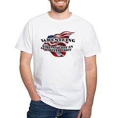 Wrestling USA Martial Art Shirt
