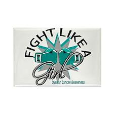 Licensed Fight Like A Girl 12.3 O Rectangle Magnet