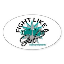 Licensed Fight Like A Girl 12.3 Ova Decal