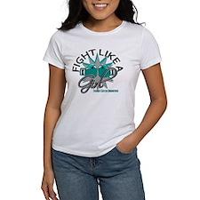 Licensed Fight Like A Girl 12.3 Ov Tee