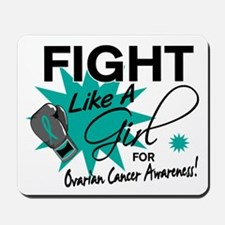 Licensed Fight Like A Girl 11.4 Ovarian Mousepad