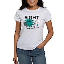 Licensed Fight Like A Girl 11.4 Ov Tee