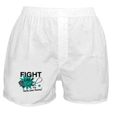 Licensed Fight Like A Girl 11.4 Ovari Boxer Shorts