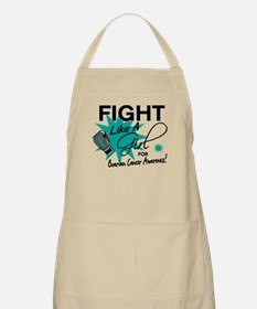 Licensed Fight Like A Girl 11.4 Ovarian Canc Apron